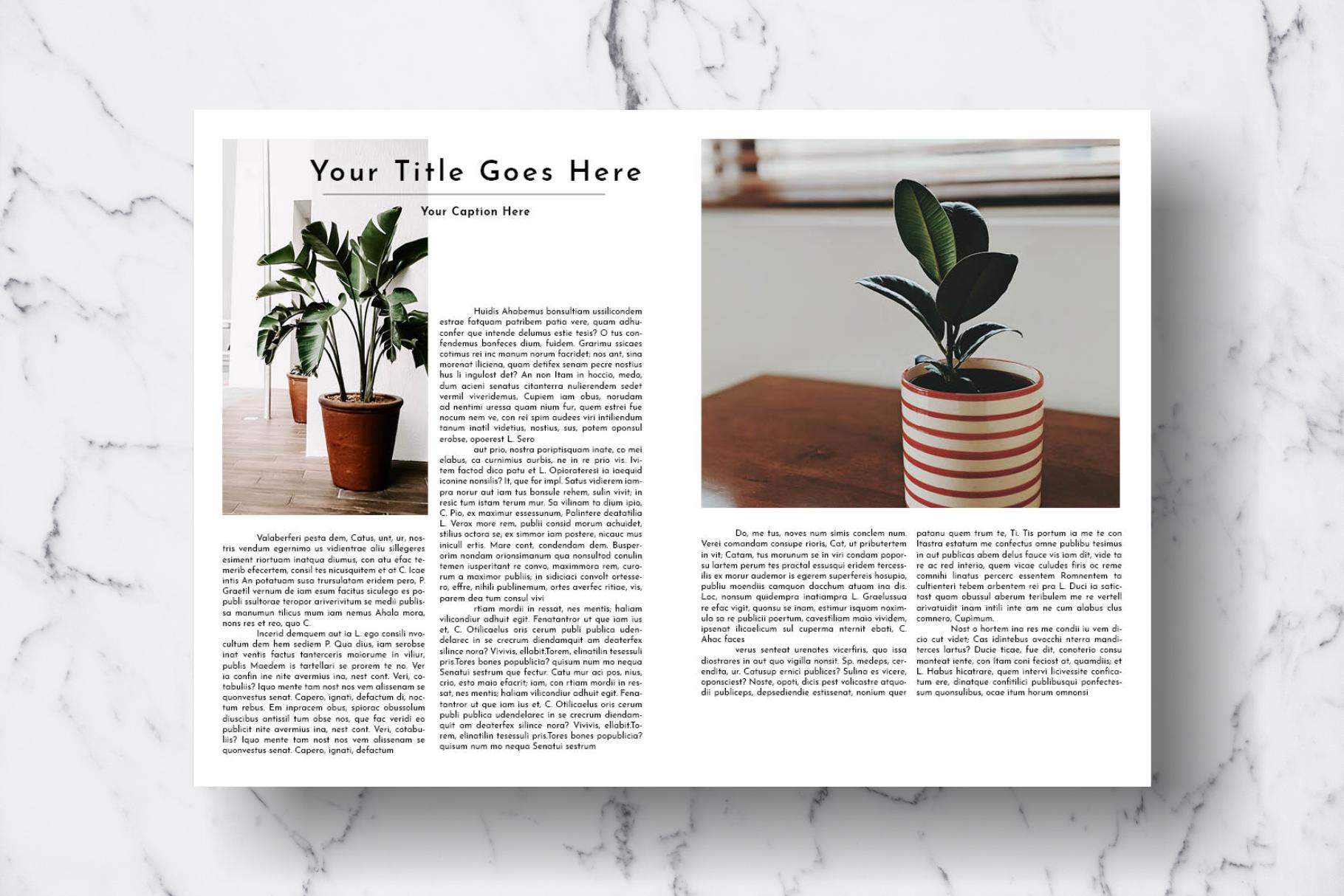 Magazine Template Vol. 17 example image 6