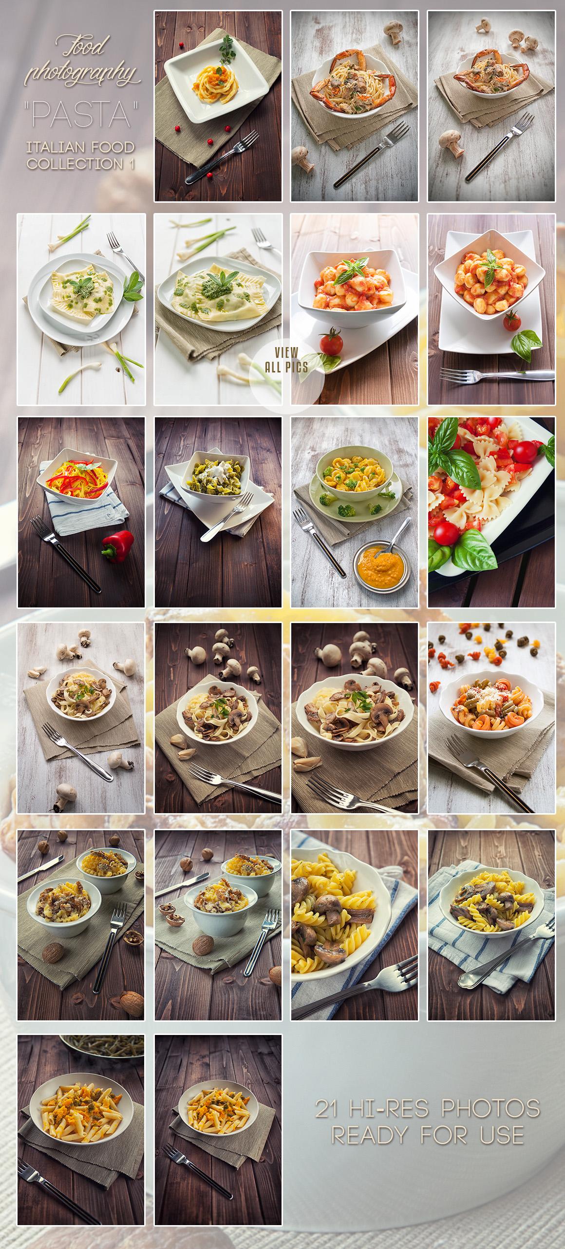ITALIAN Food Photo Bundle example image 2