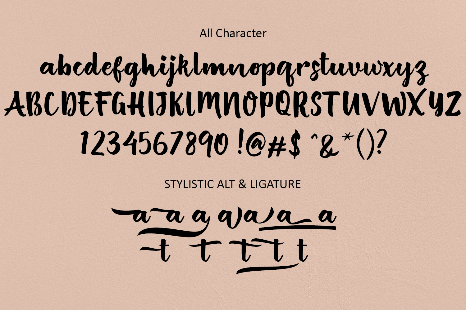 British Script - Handmade Brush example image 6