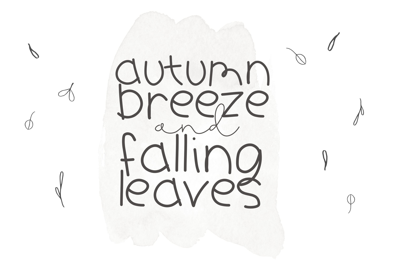 Pumpkin Season - A Cute Handwritten Font example image 7