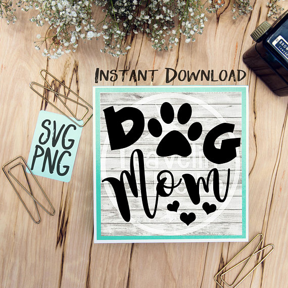 Dog SVG Bundle Dog Mom Live Love Bark Funny Dog Quote Saying example image 4