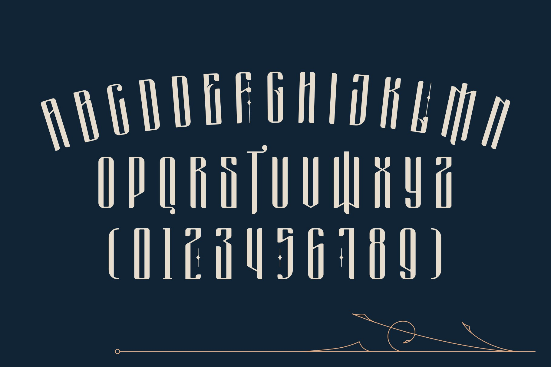 Masquerouge Font example image 3