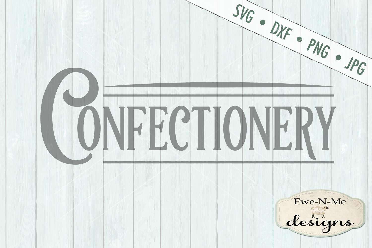 Confectionery - Bakery Kitchen - SVG DXF File example image 2