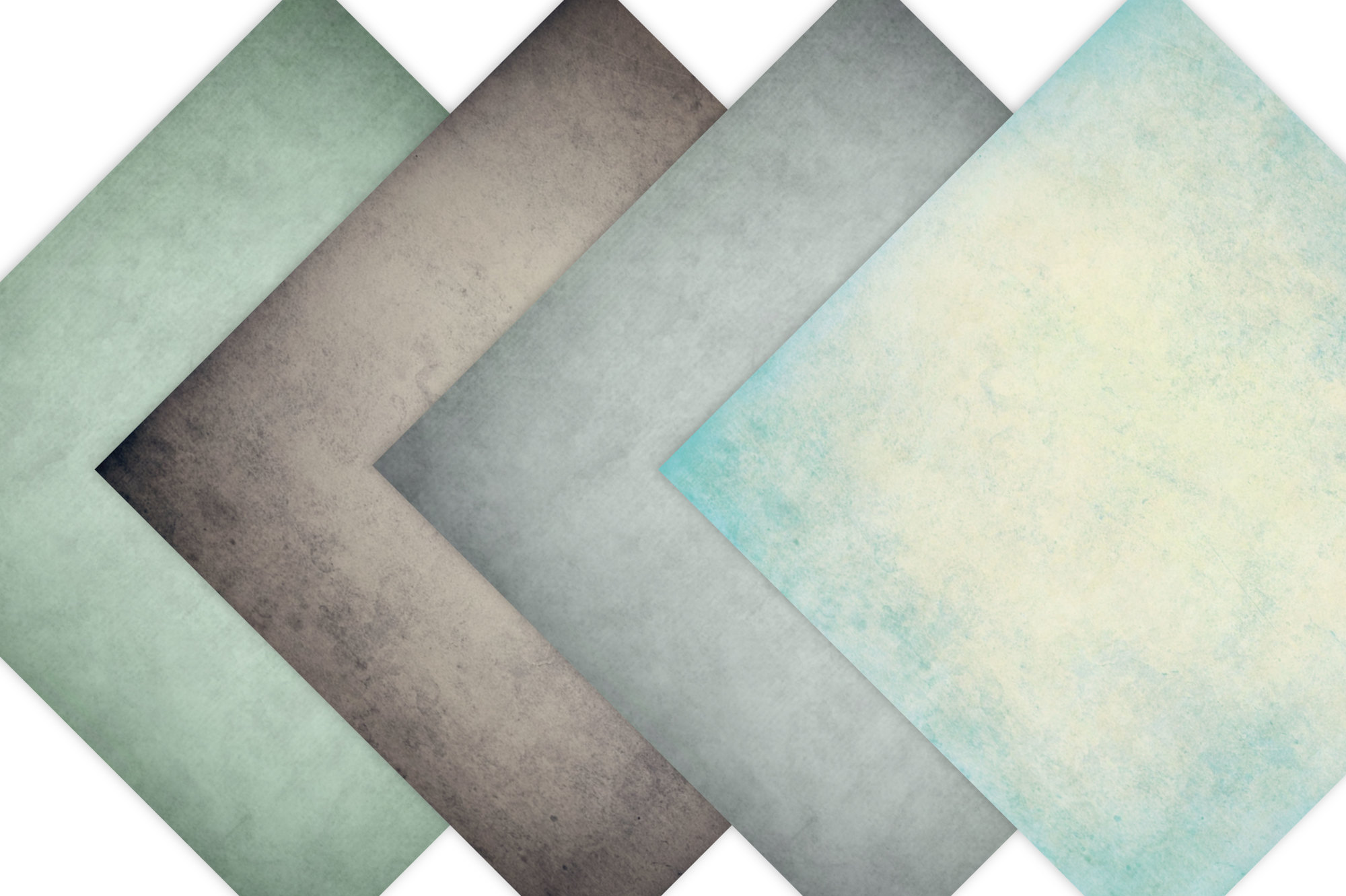 Vintage Paper Backgrounds - Textured Backgrounds in Shabby Chic Colors example image 2