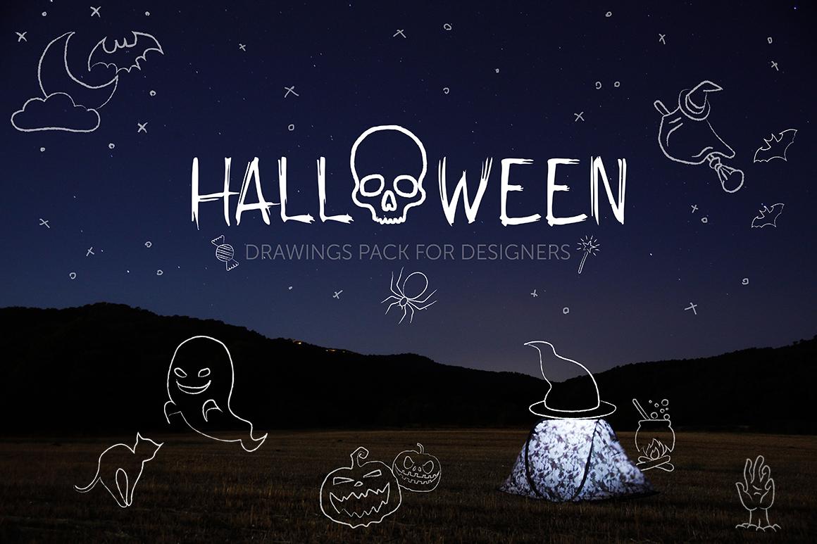 Spooky Halloween Bundle example image 1