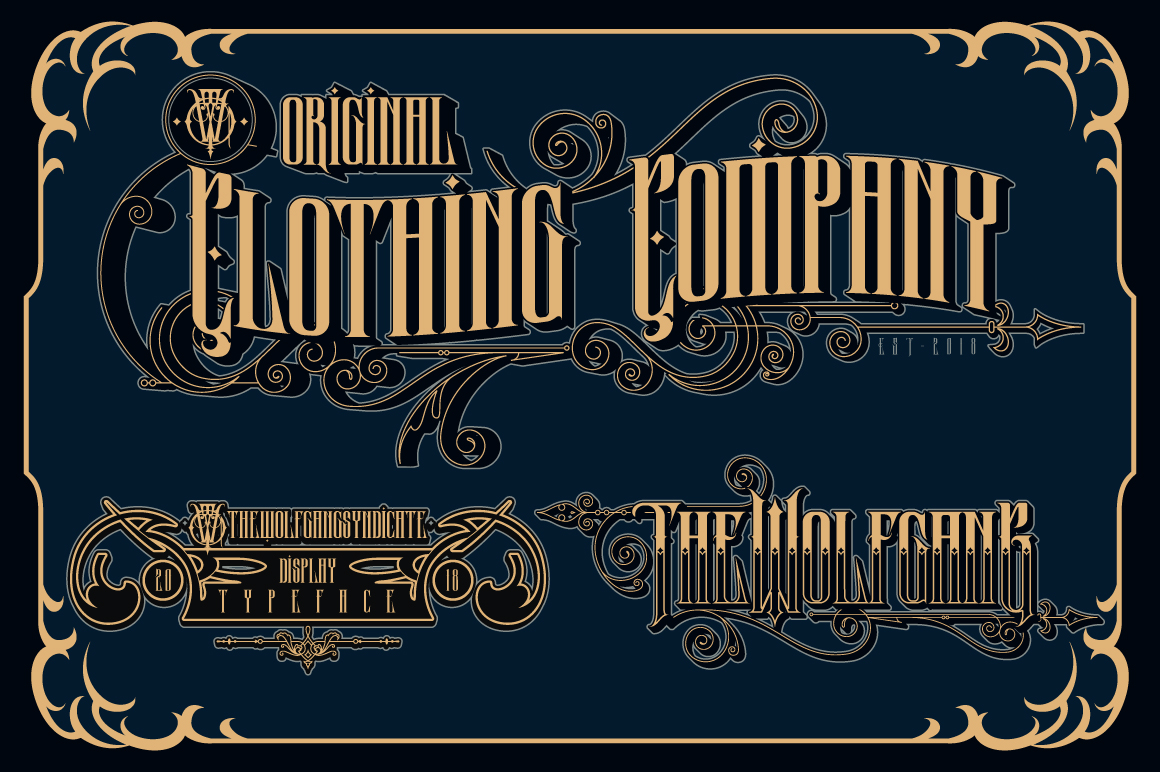 Wolfgang Typeface example image 2