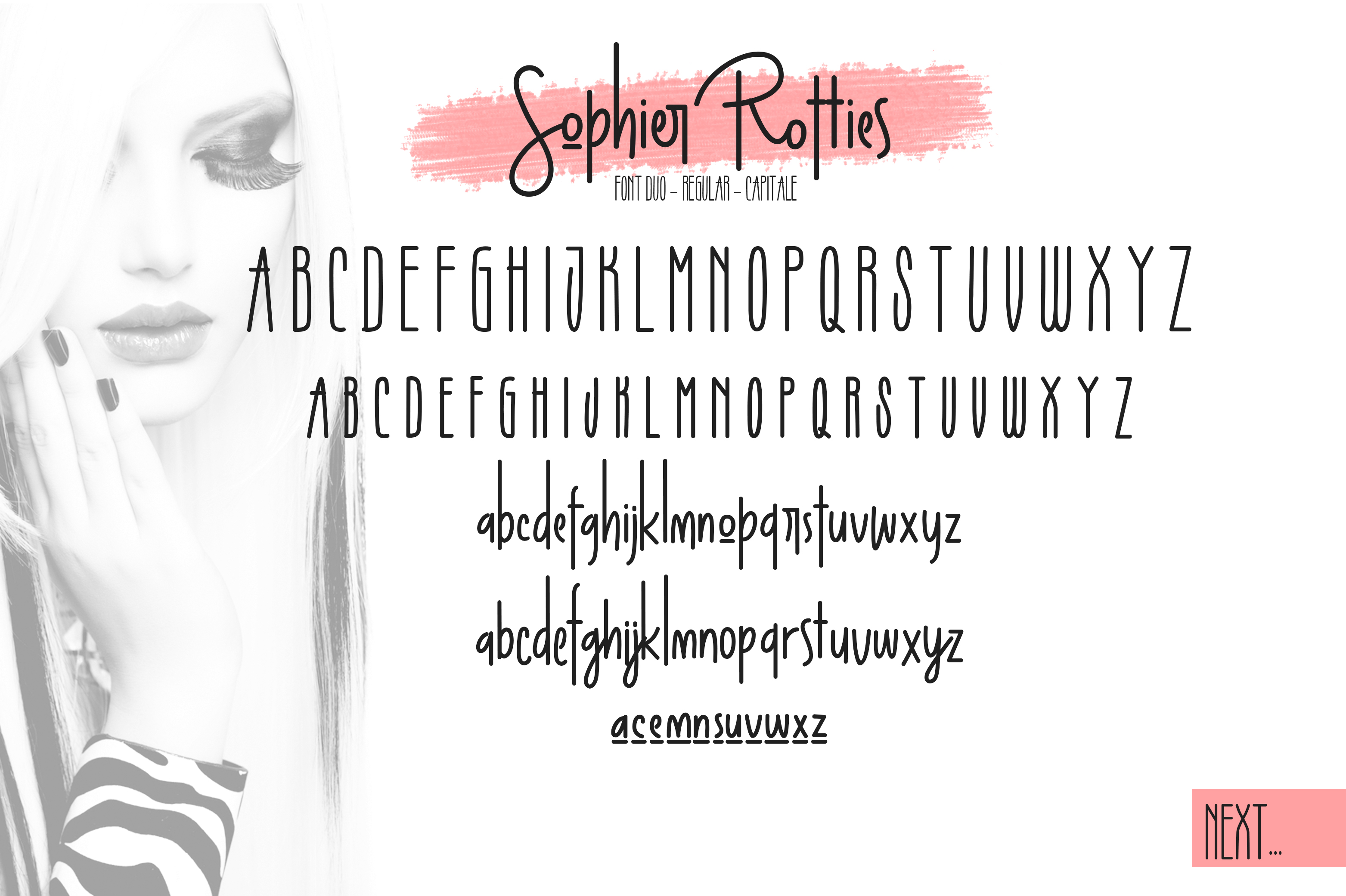 Sophier Rotties Font Duo example image 9