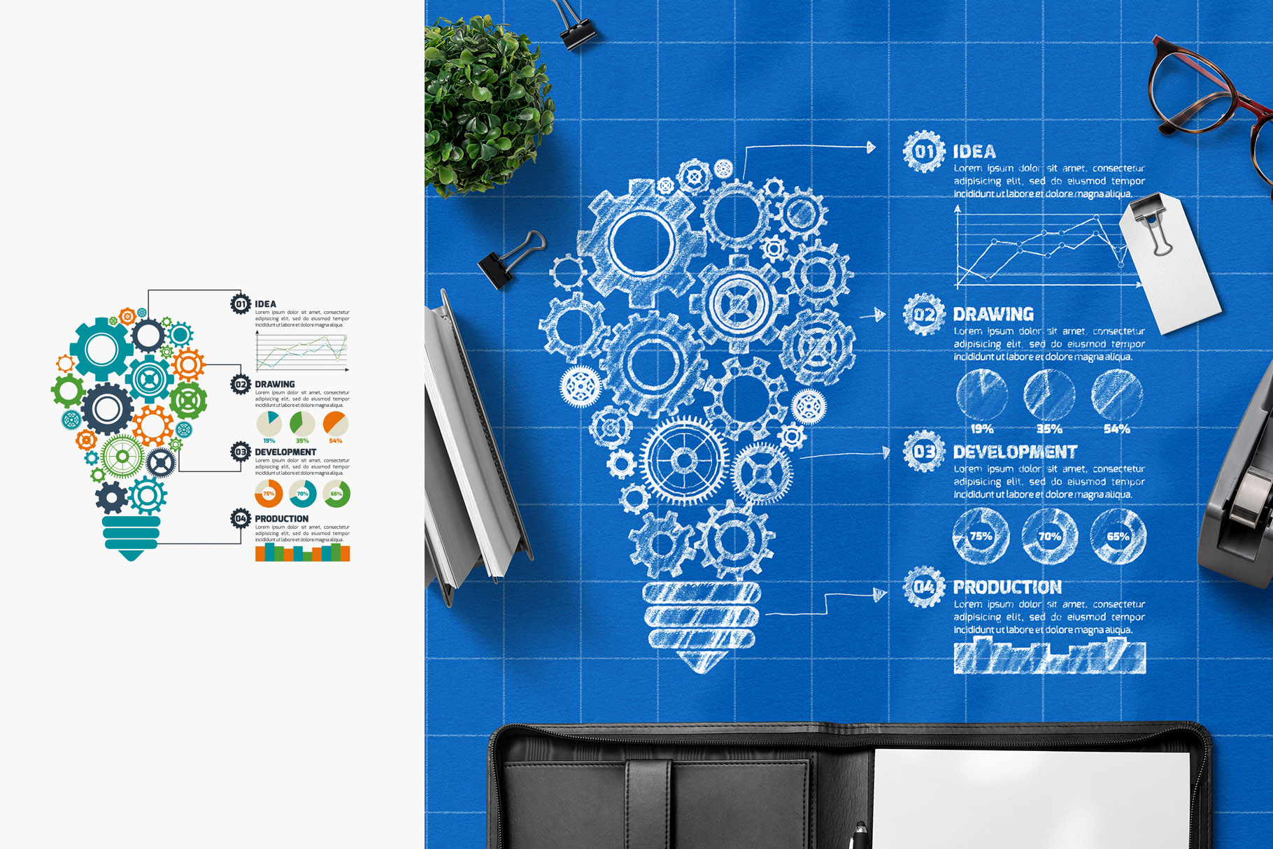 All-In-One Logo Mockup Creator example image 18