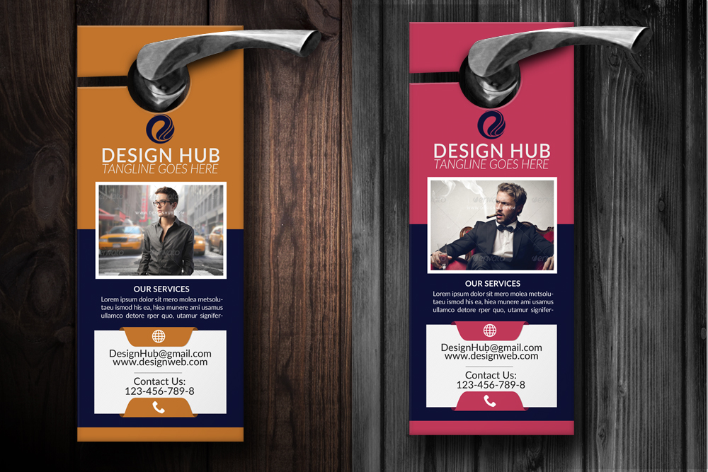 Business Analyst Door Hangers example image 3