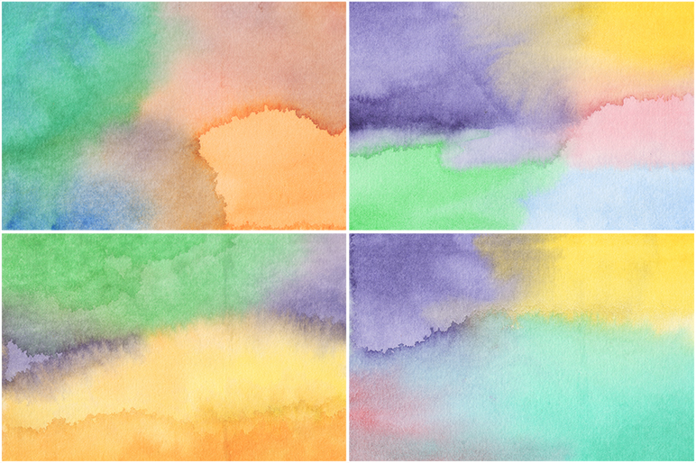 20 Watercolor Backgrounds example image 2