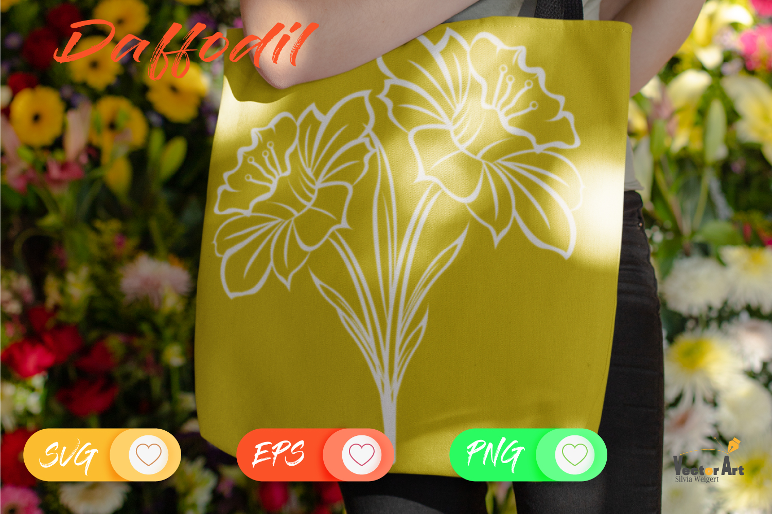 Spring Flower - Bundle - Cut Files with 2 Layers example image 6