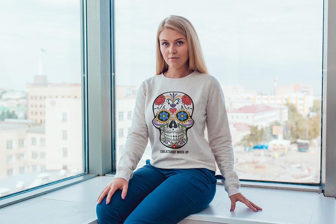 Sweatshirt Mock-Up Vol. 1 example image 15