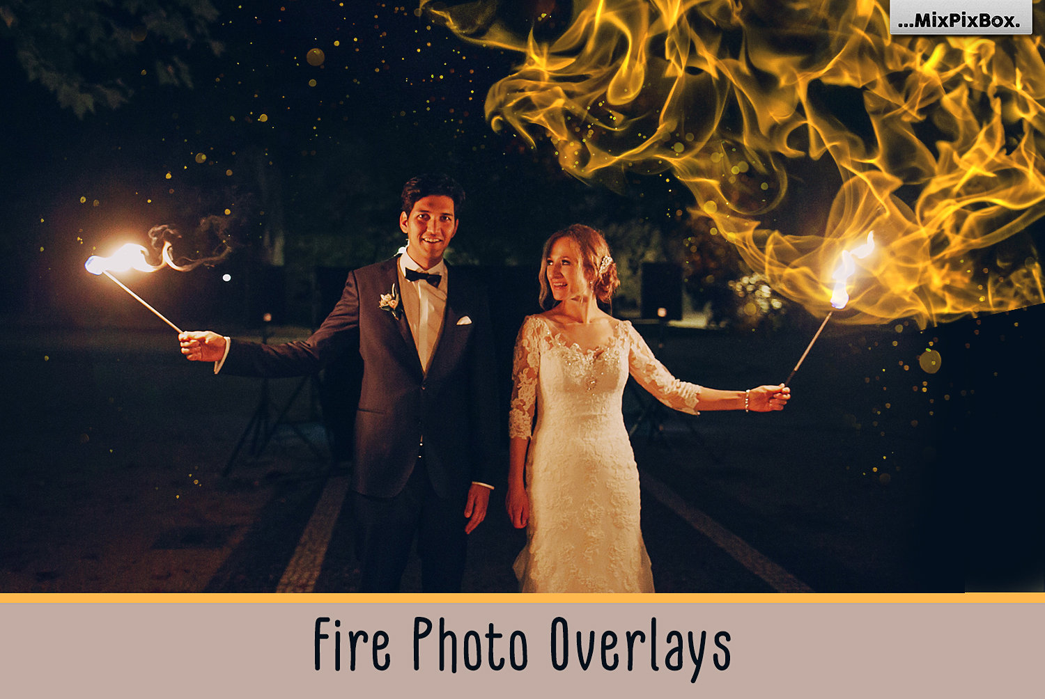 Fire Photo Overlays example image 1