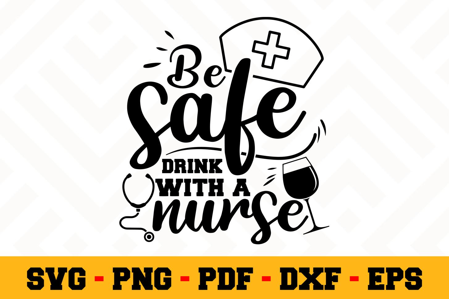 Nurse SVG Design n593   Nurse SVG Cut File example image 1