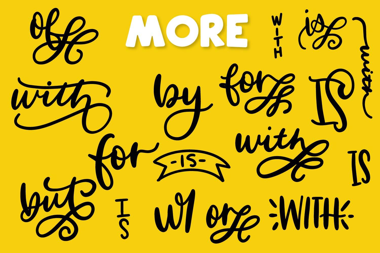Catchwords & Ampersands - A Dingbat Font example image 6
