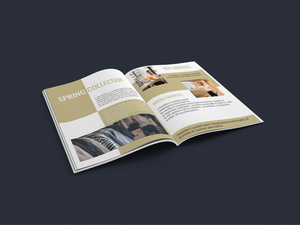Professional Newsletter - 6 Printable Templates example image 12