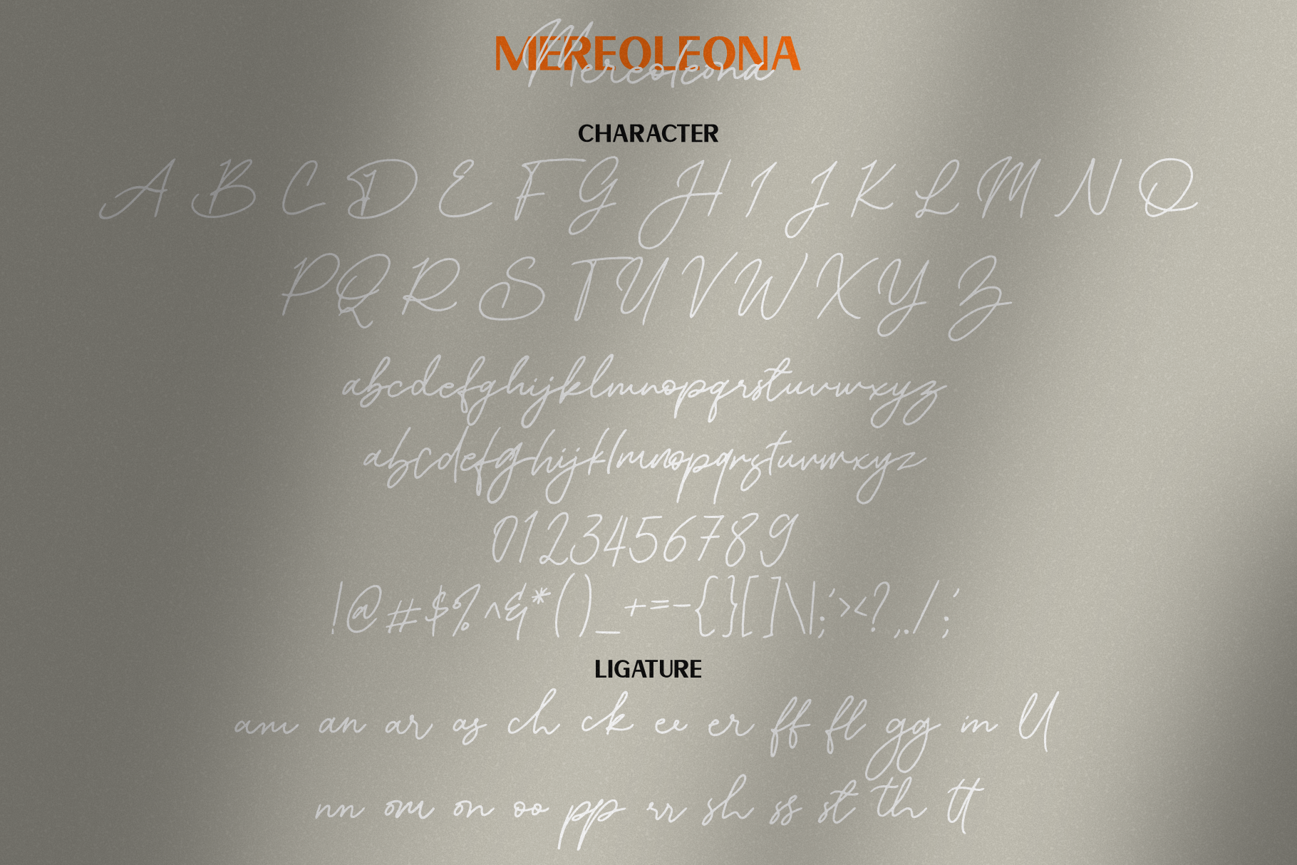 Mereoleona | Font Duo example image 7