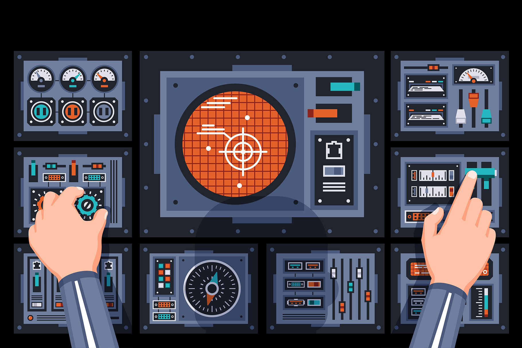 Control Panels Spaceship example image 6