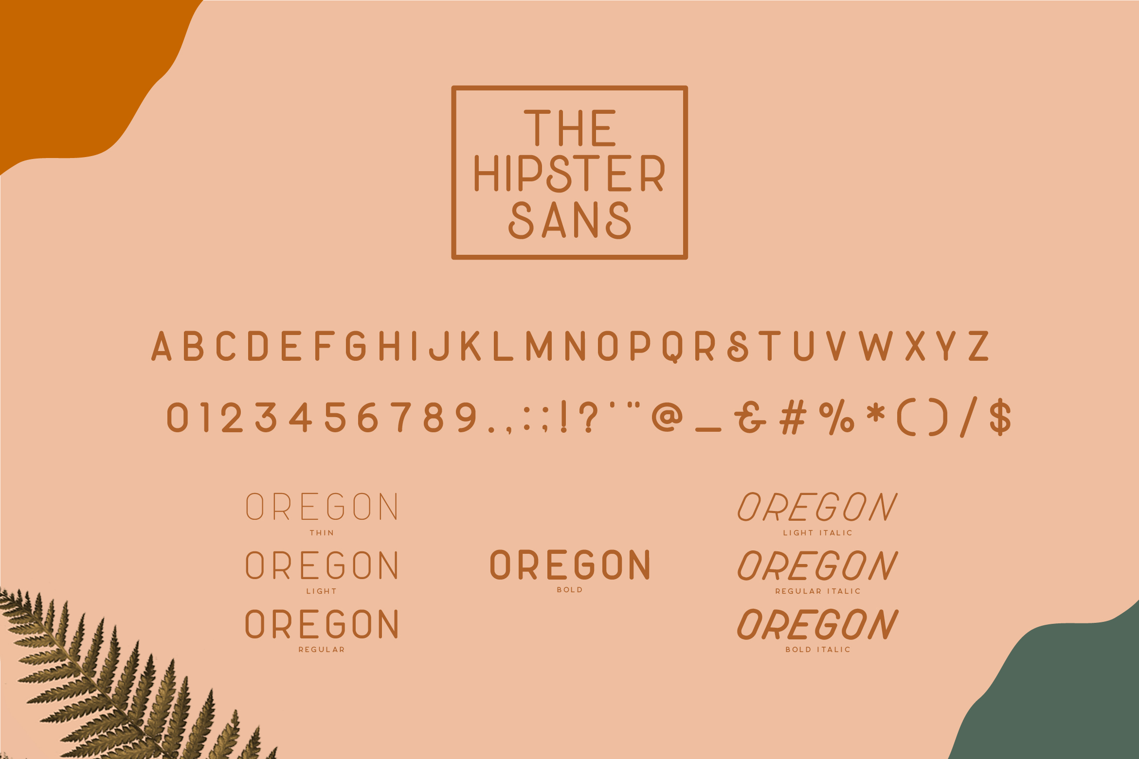 Hipster Style Script and Sans Typeface example image 16