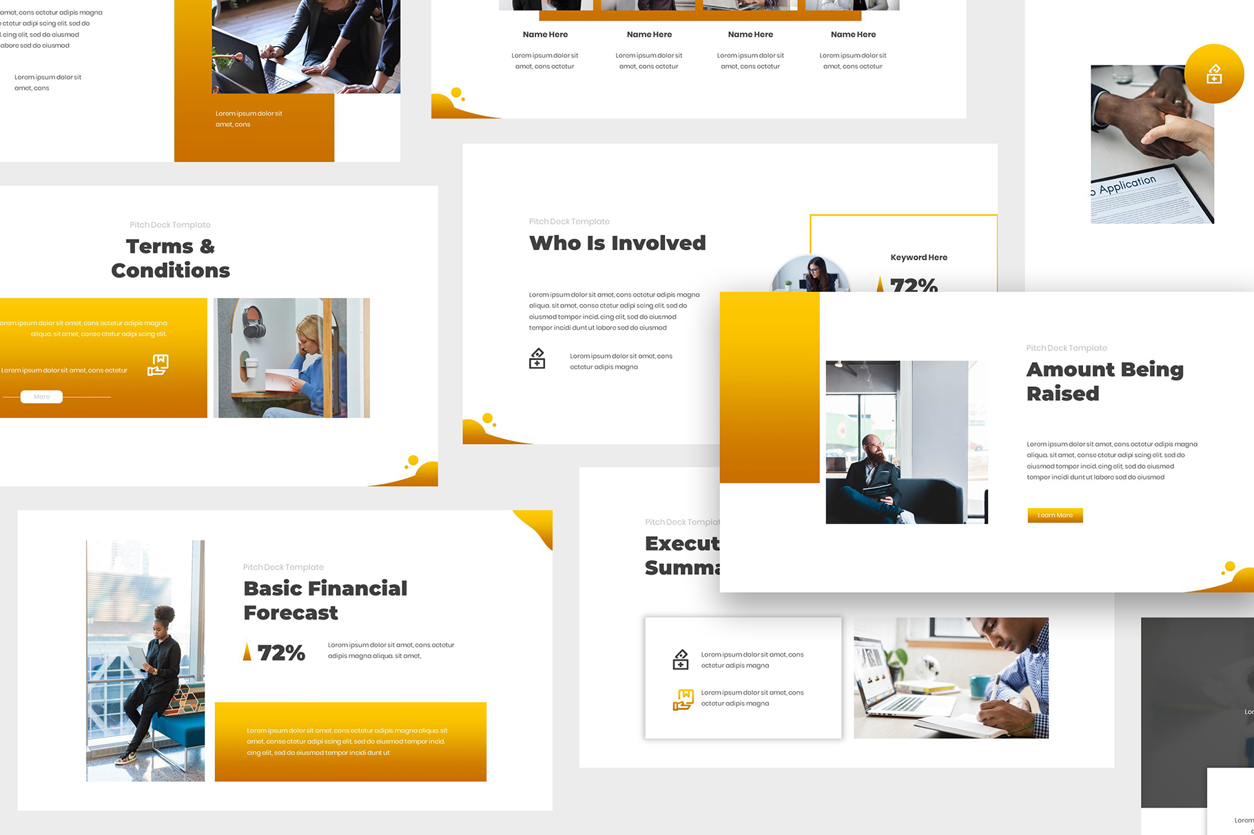 Investment Pitch Deck Powerpoint example image 3