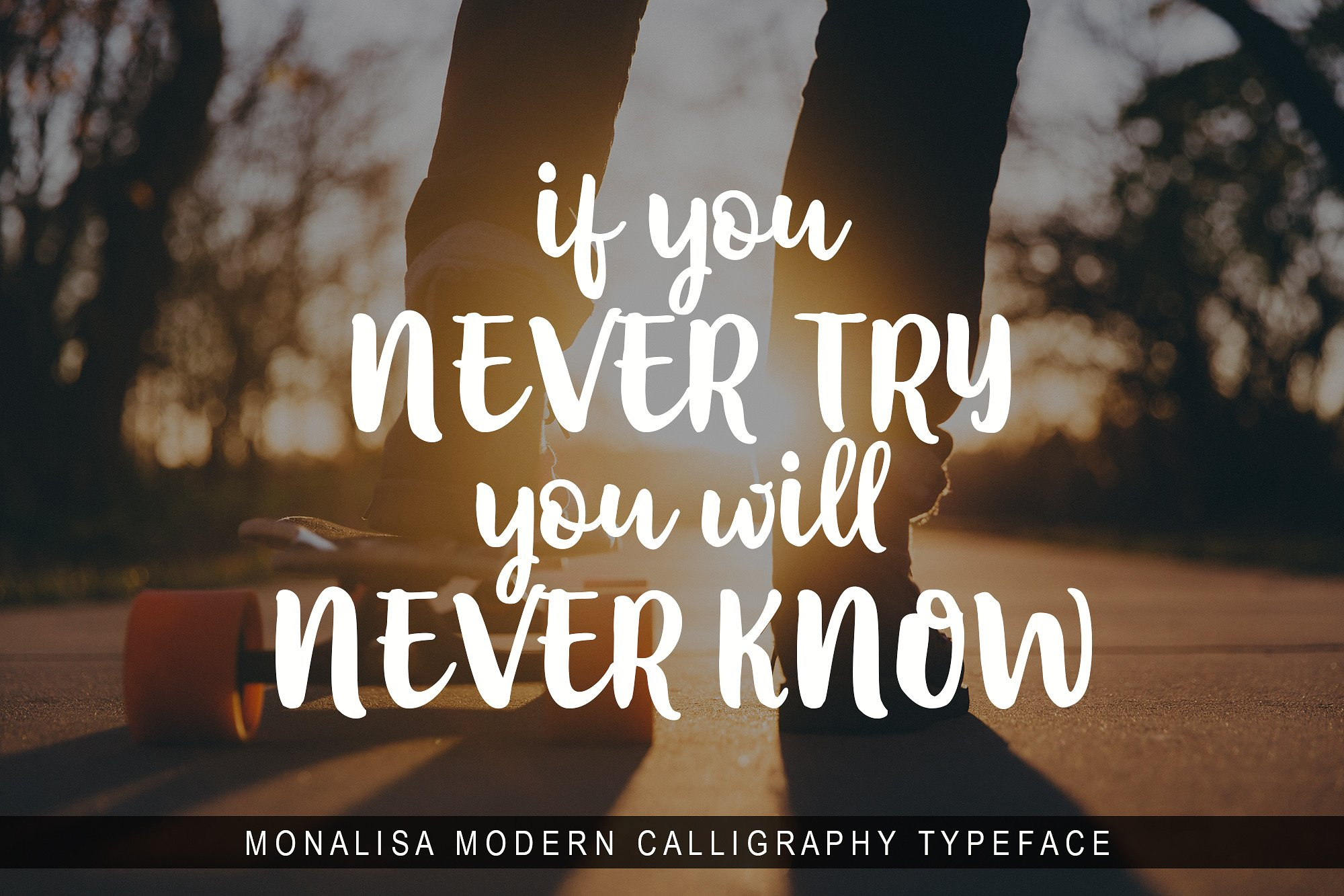 Monalisa Script example image 3