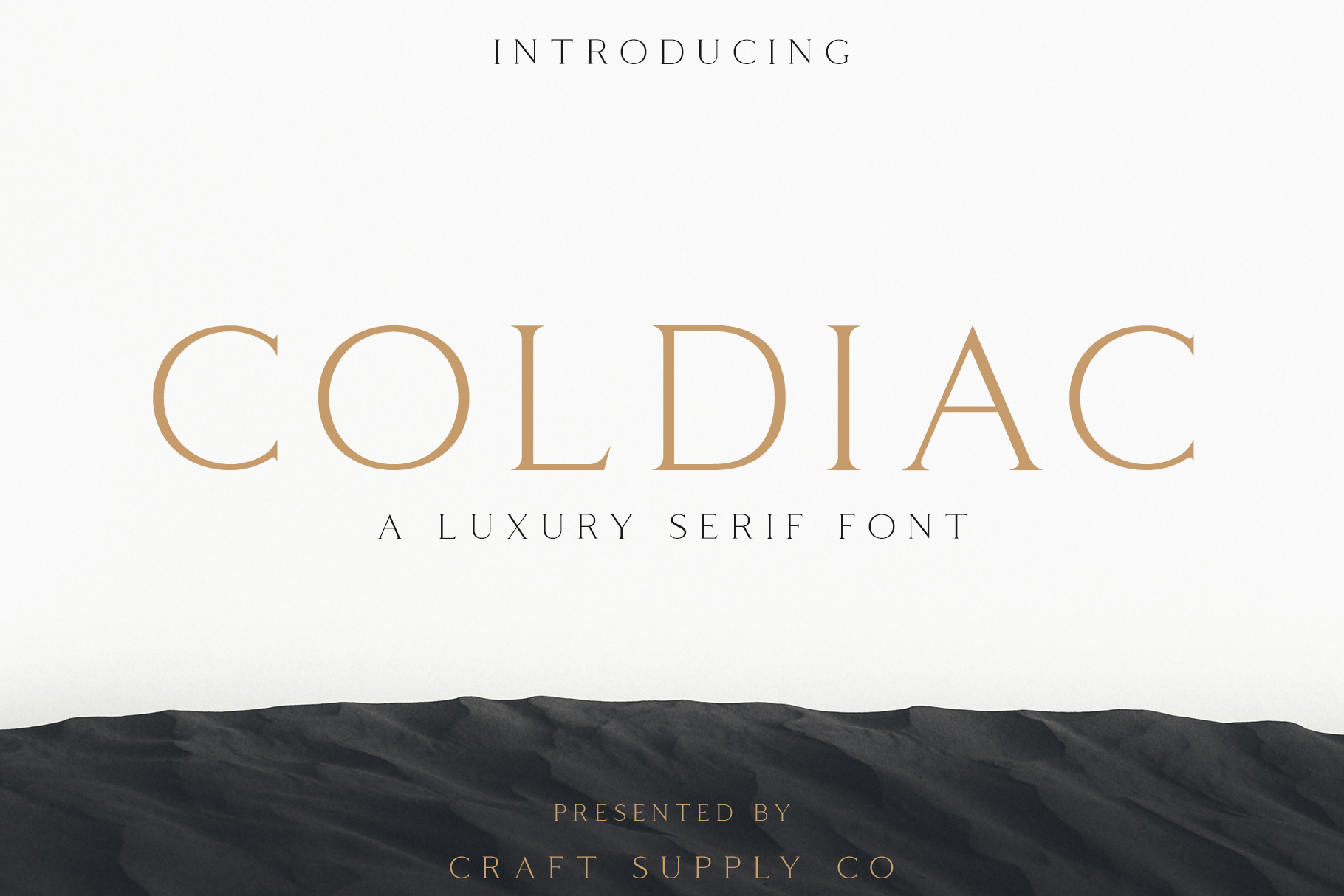 Coldiac - Luxury Serif Font example image 1