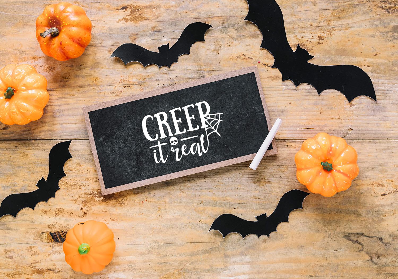 Halloween SVG Cut File Bundle example image 5