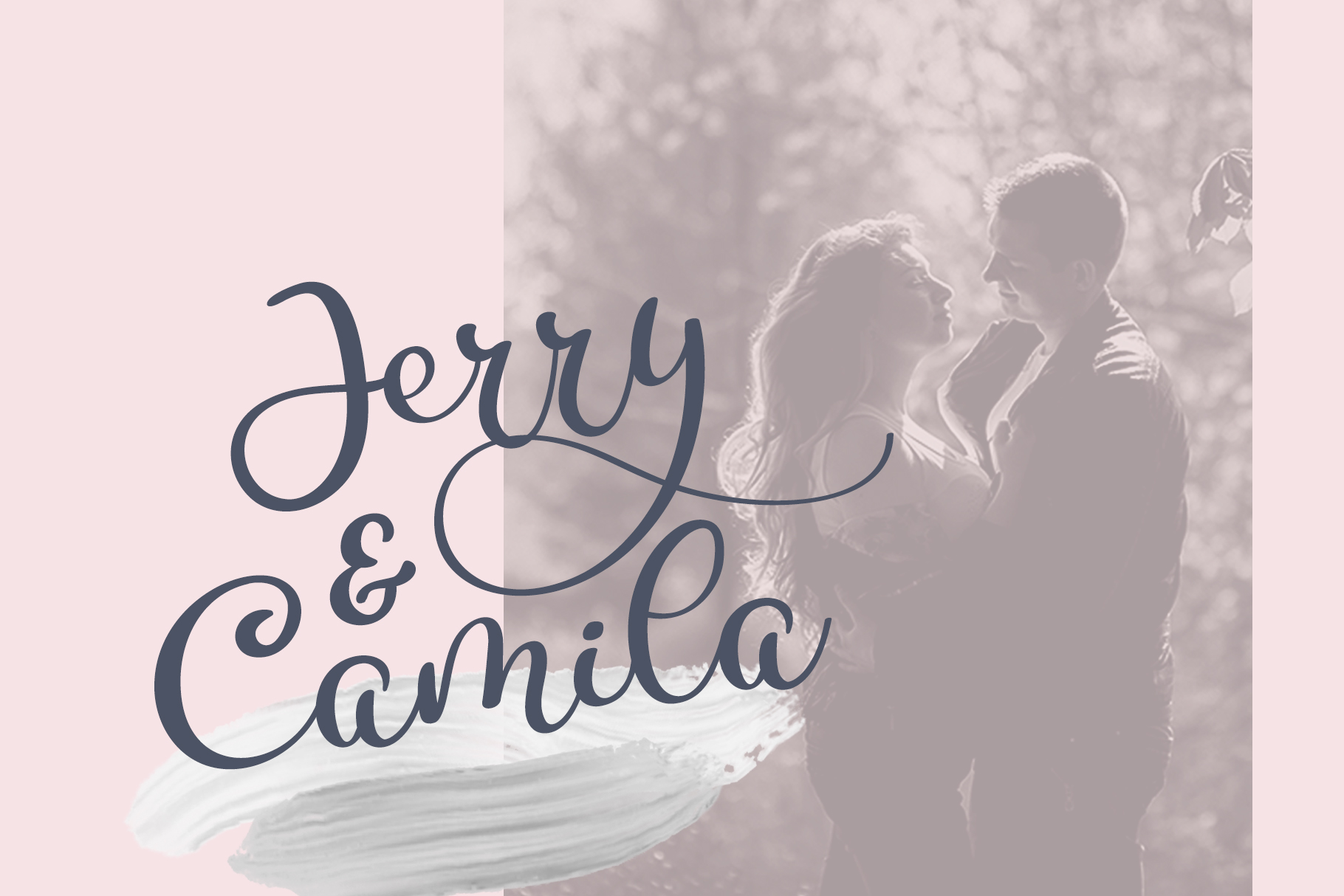 Calligraphy Wedding Decor Font Delight example image 6