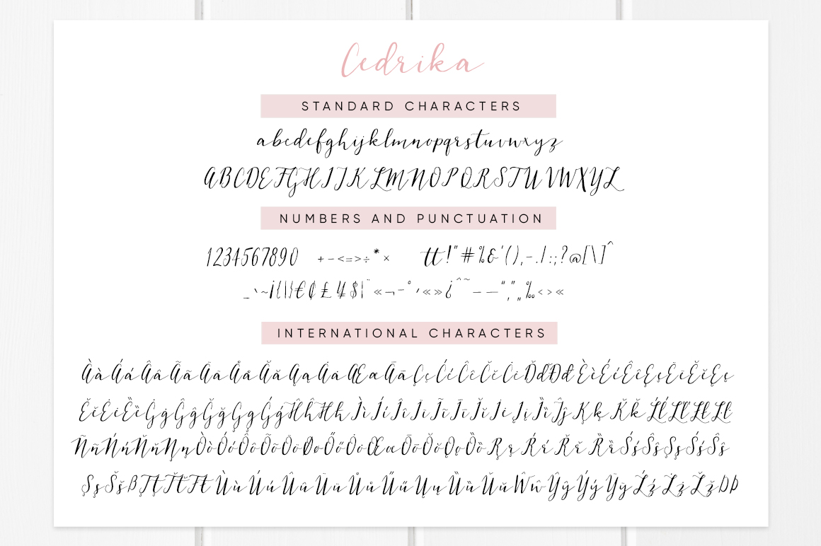 Cedrika script example image 9