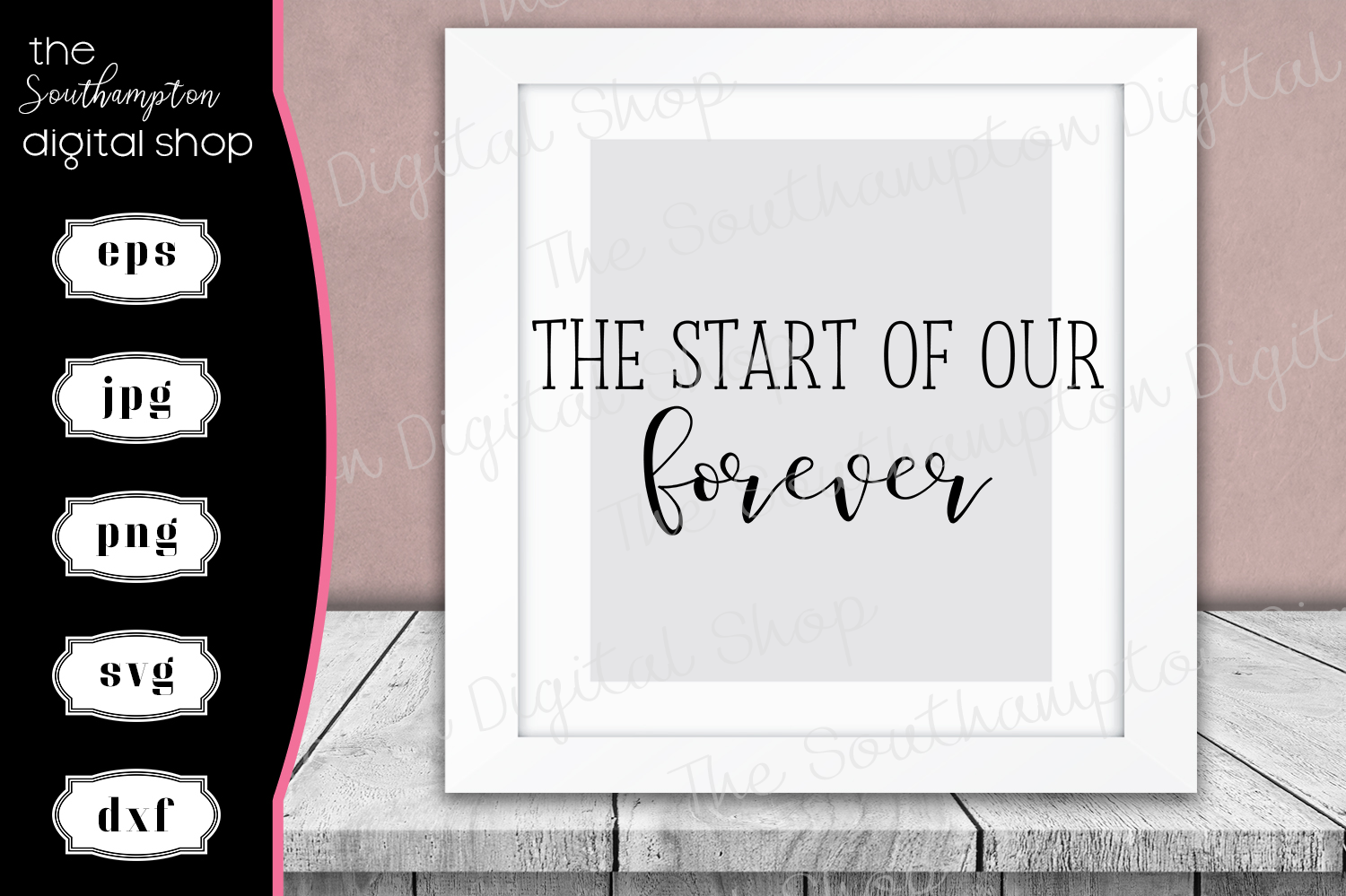 The Start Of Our Forever example image 1