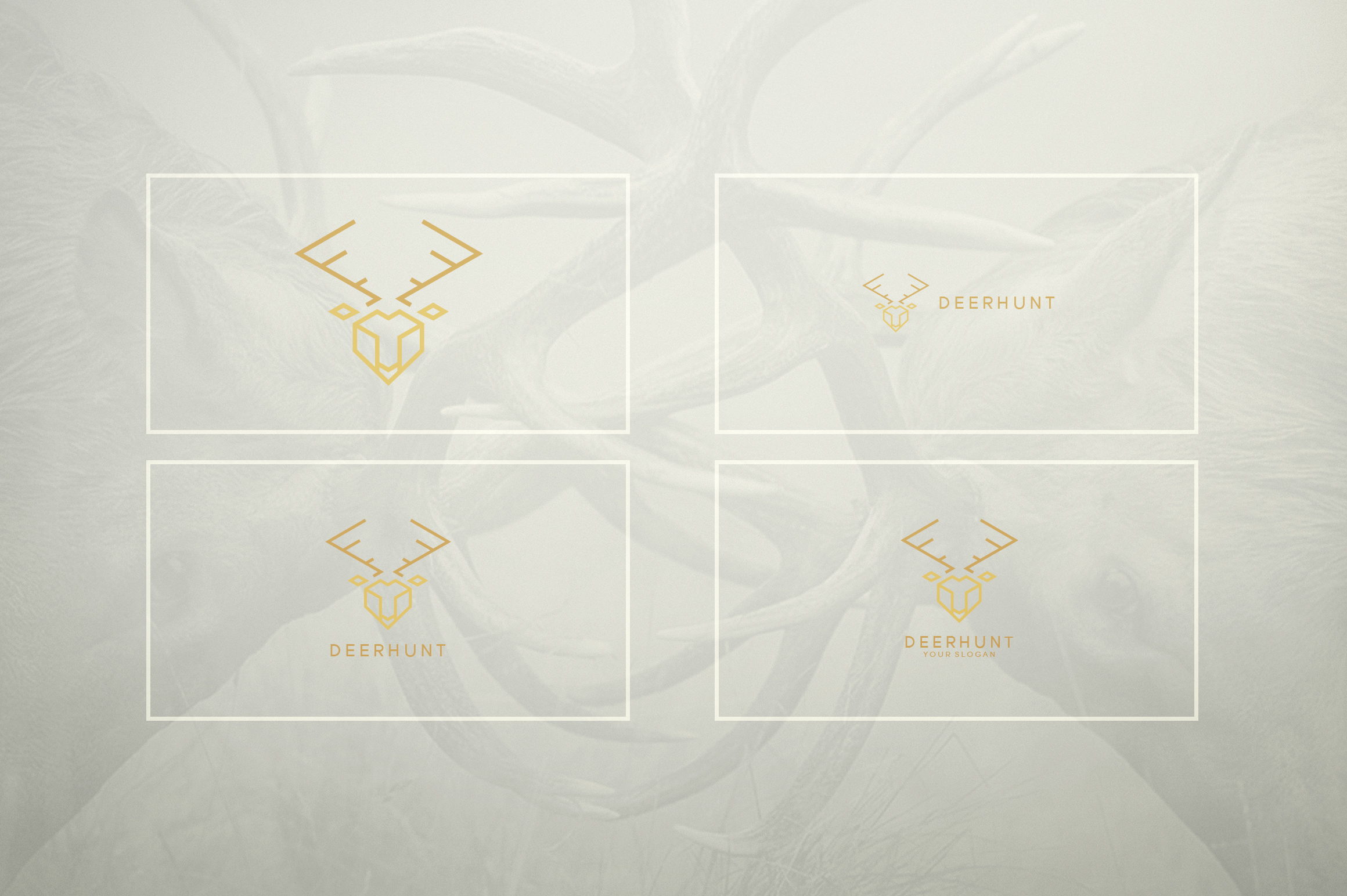 17 Geometric Animal Icons and Logos example image 21