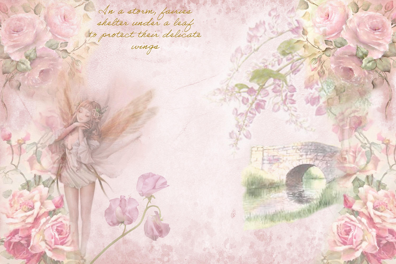 Printable Fairy Journaling Kit, Free Ephemera and PNGs example image 4