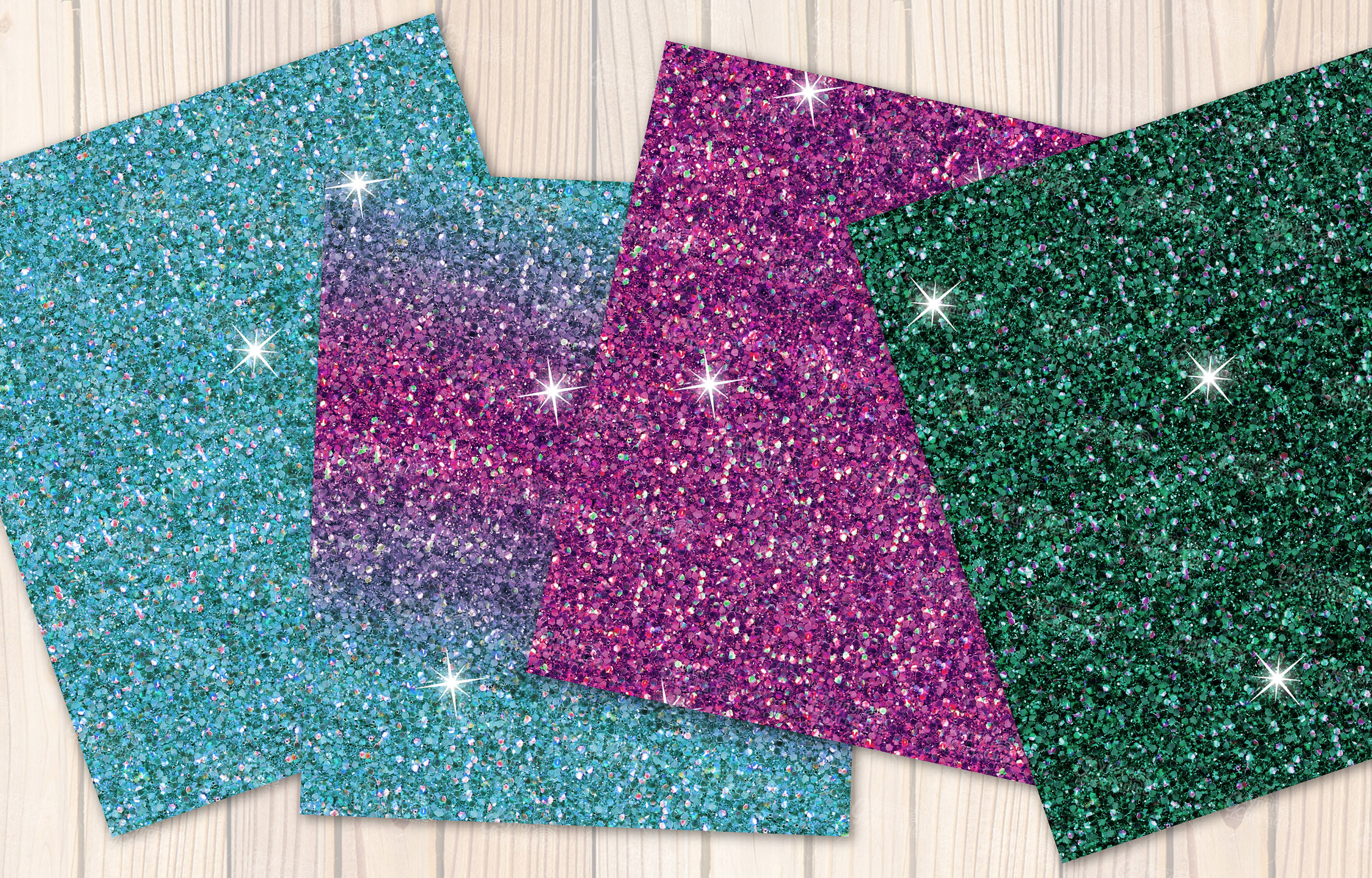 Mexican seamless Glitter backgrounds example image 2