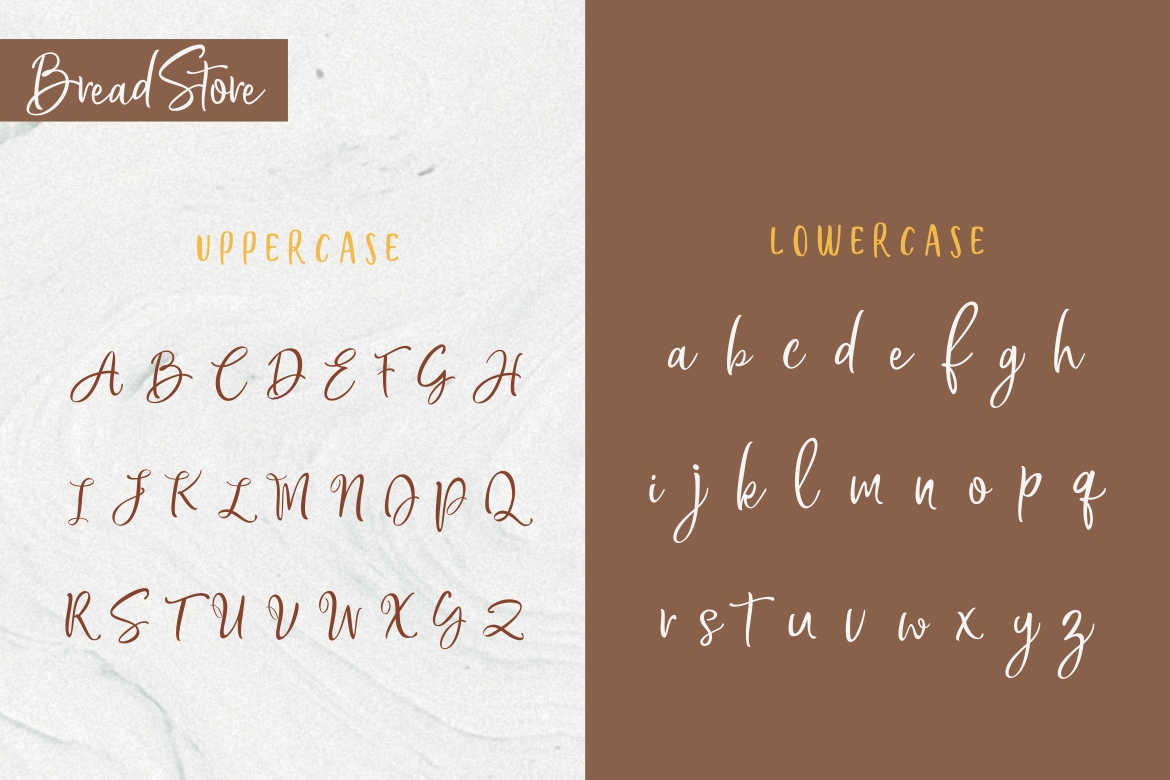 Bread Store Font example image 10