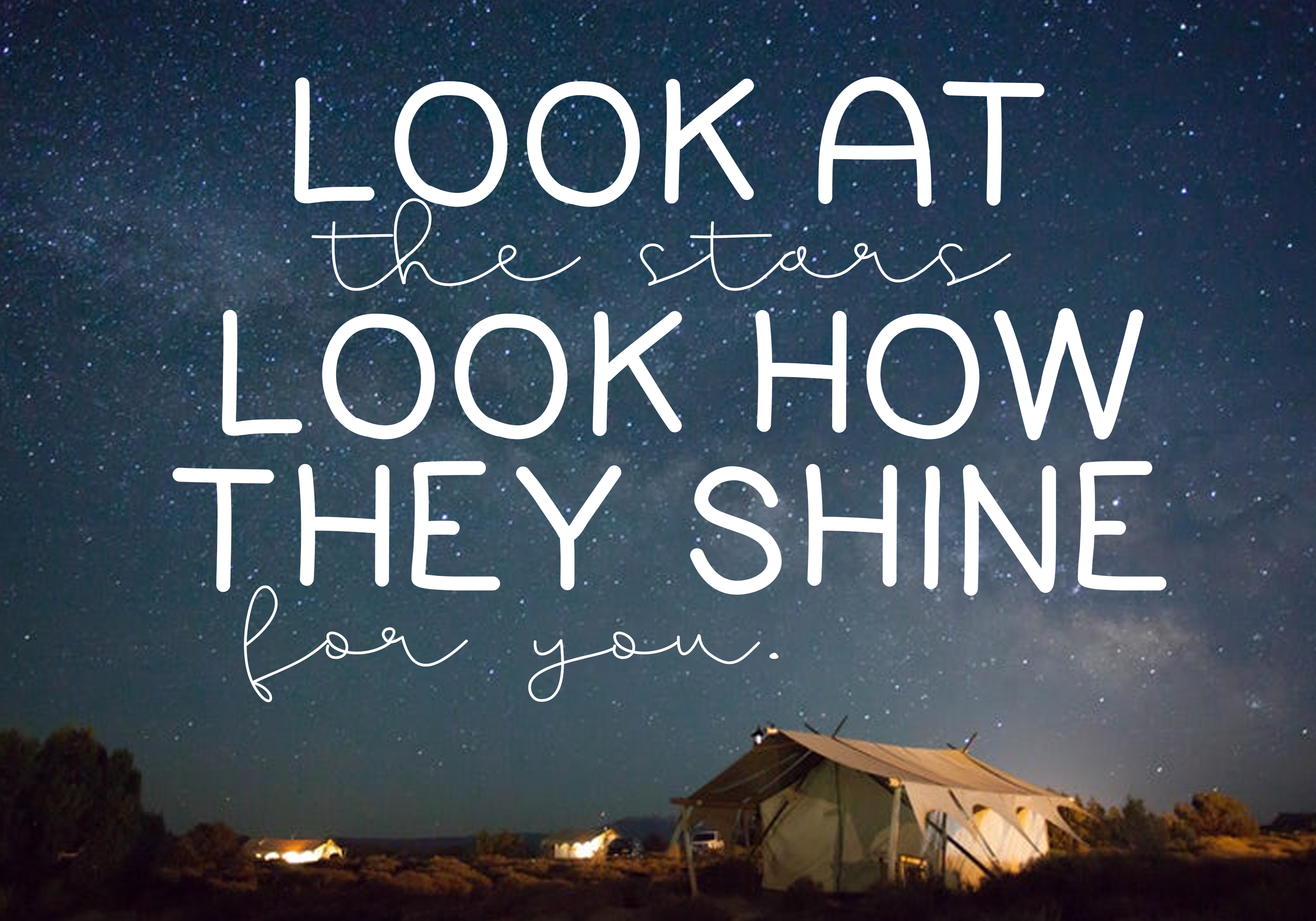 Going Camping - A Handwritten Font example image 4