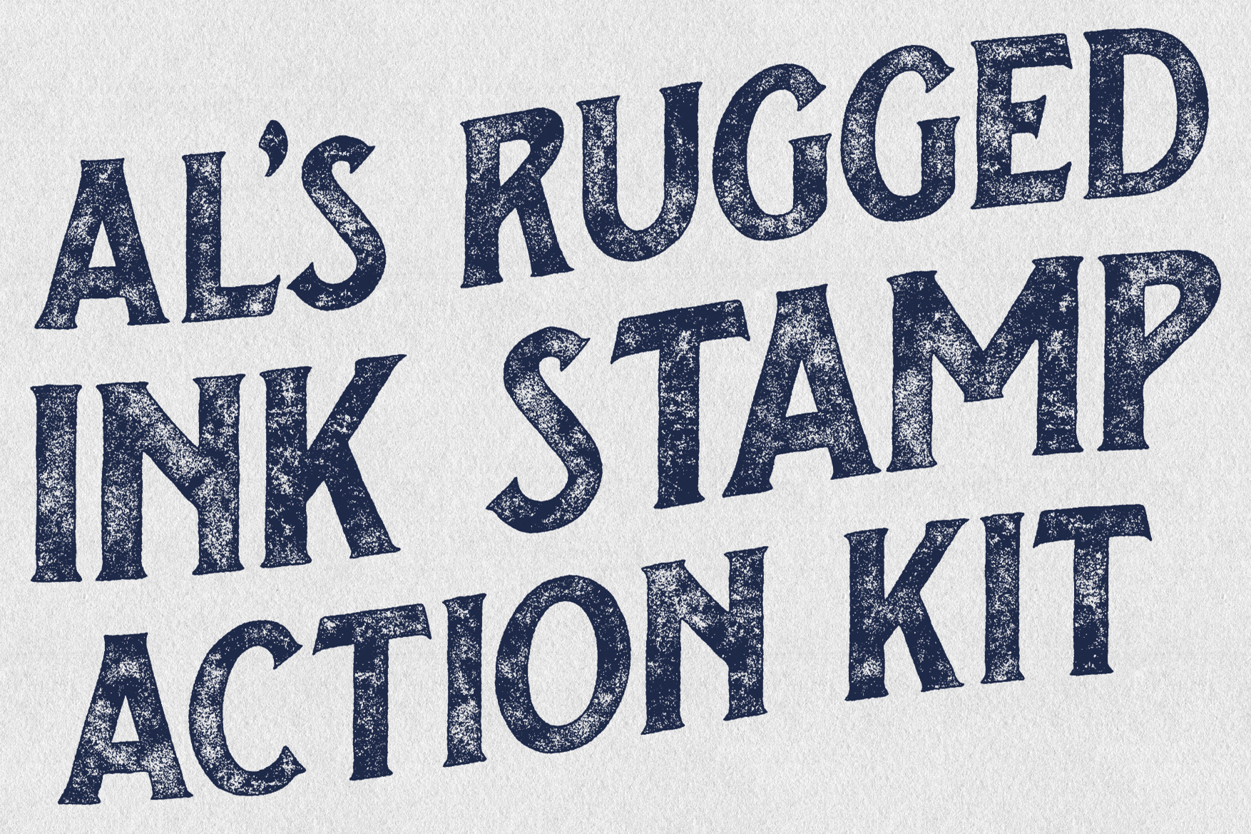 AL's Rugged Ink Stamp Action Kit example image 7