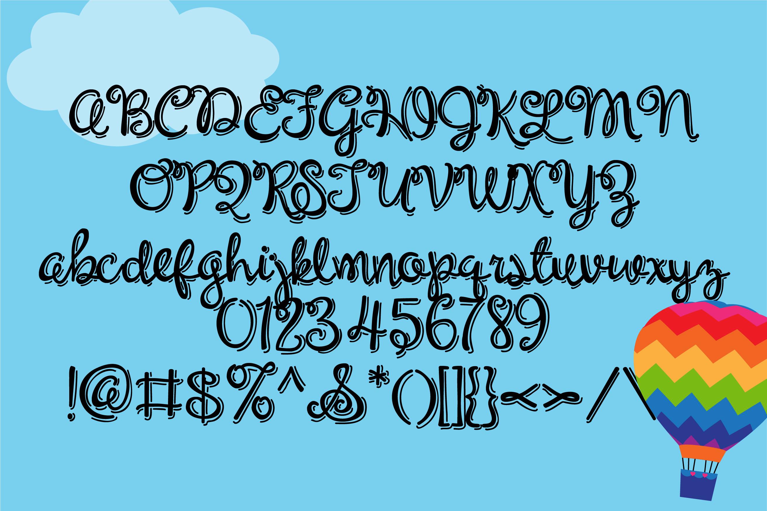 PN Unicorn Script Jitter example image 2