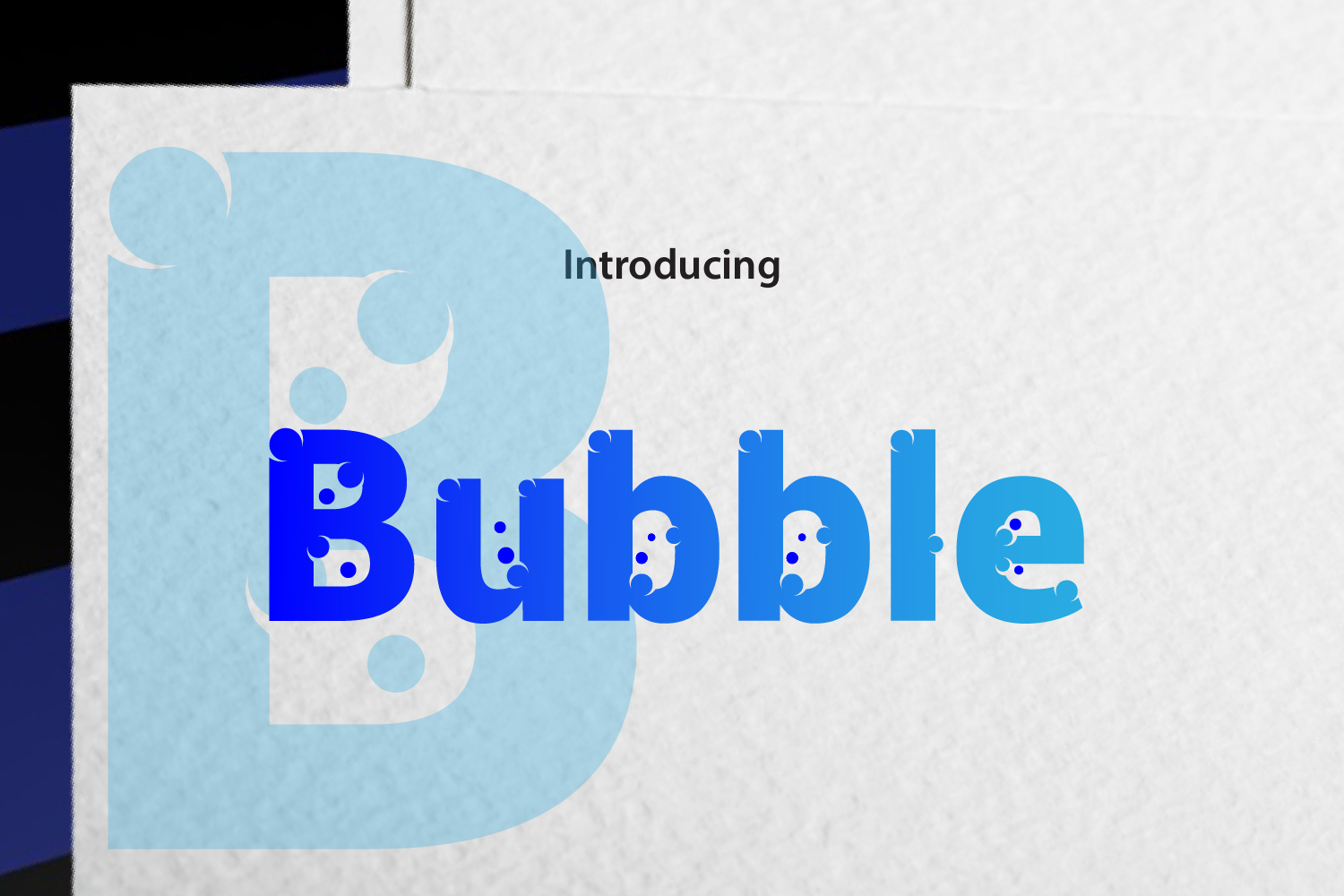 Bubble example image 1