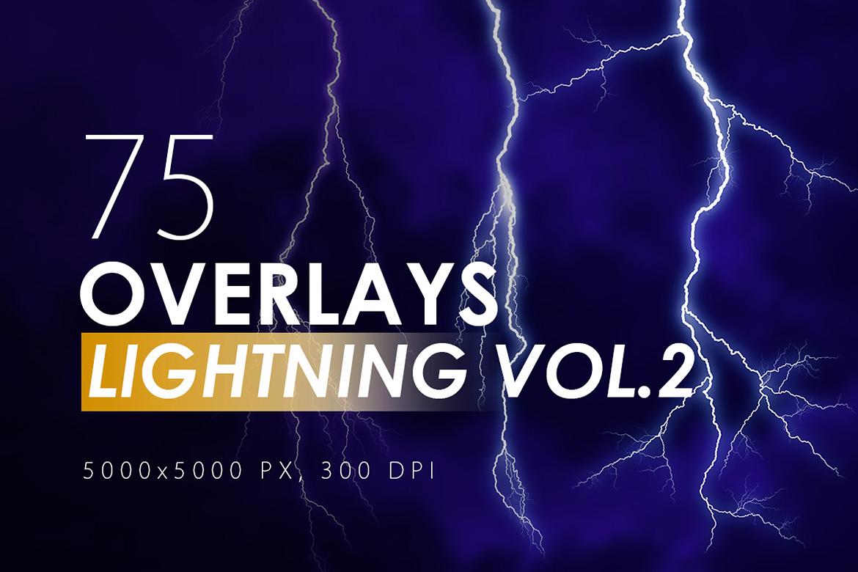 100 Lightning Overlays Vol. 2 example image 1