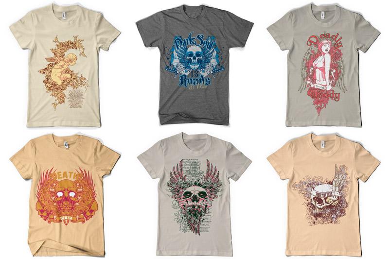 100 T-shirt Designs Vol 2 example image 4