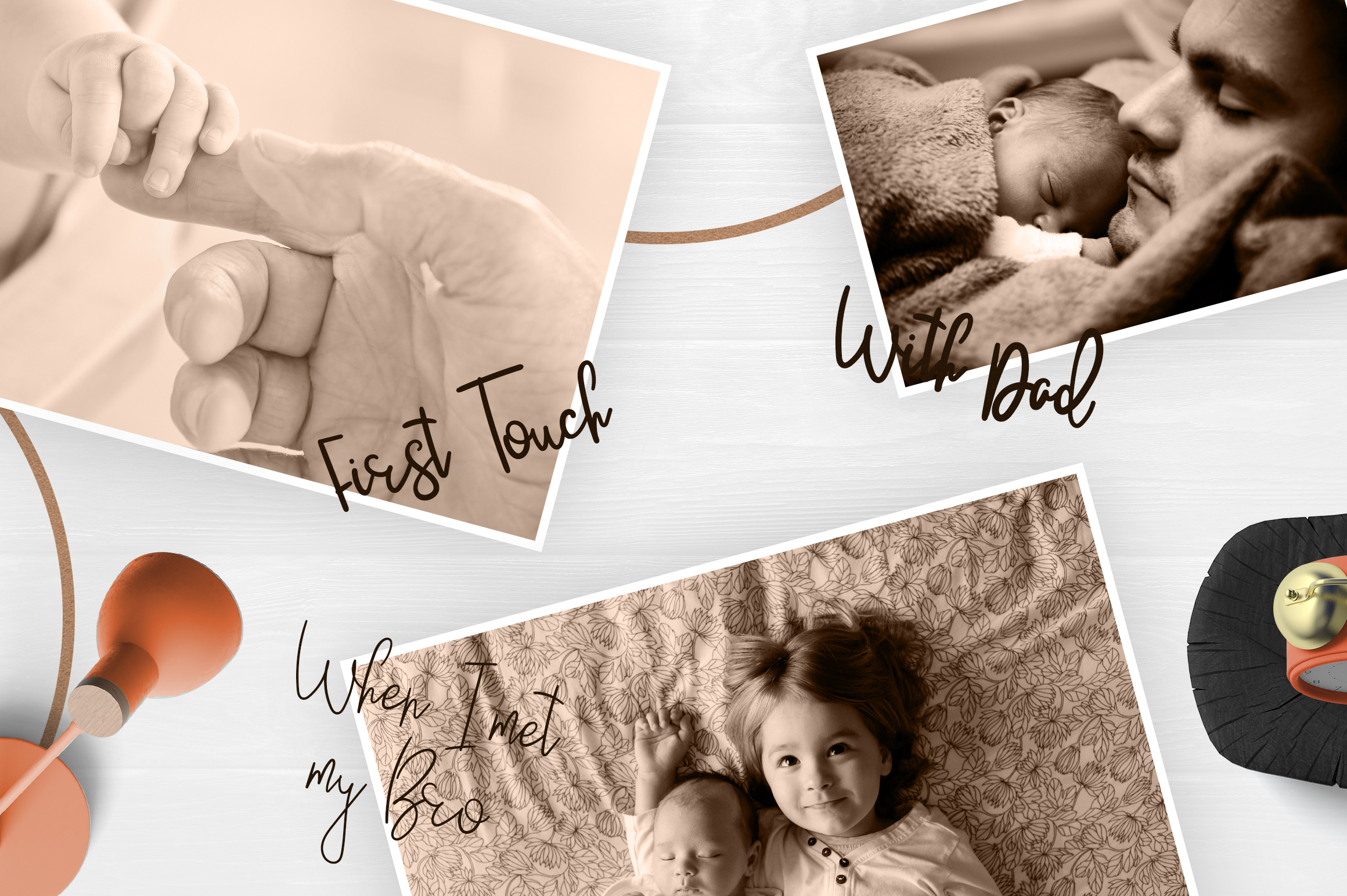 JustBecause font family example image 3