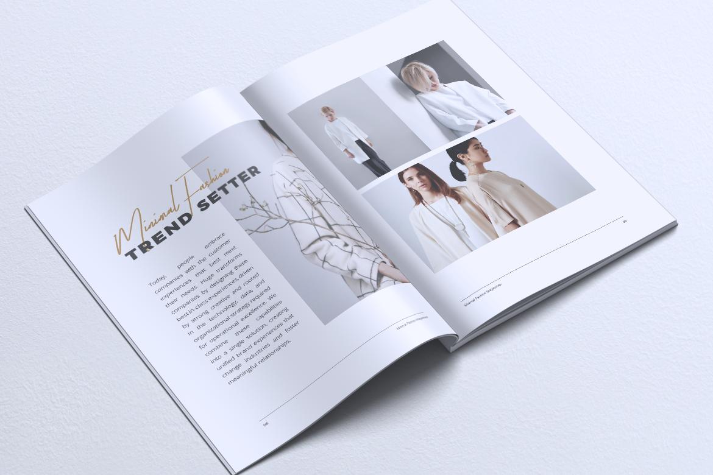MINIMAL Lookbook Magazines Fashion example image 6
