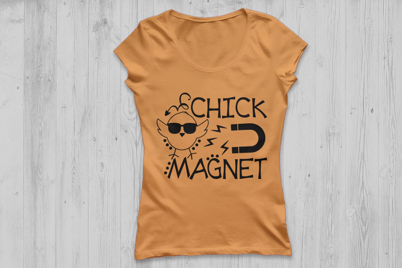 Chick Magnet Svg, Easter Svg, Easter Chicks Svg, Boys Easter example image 2