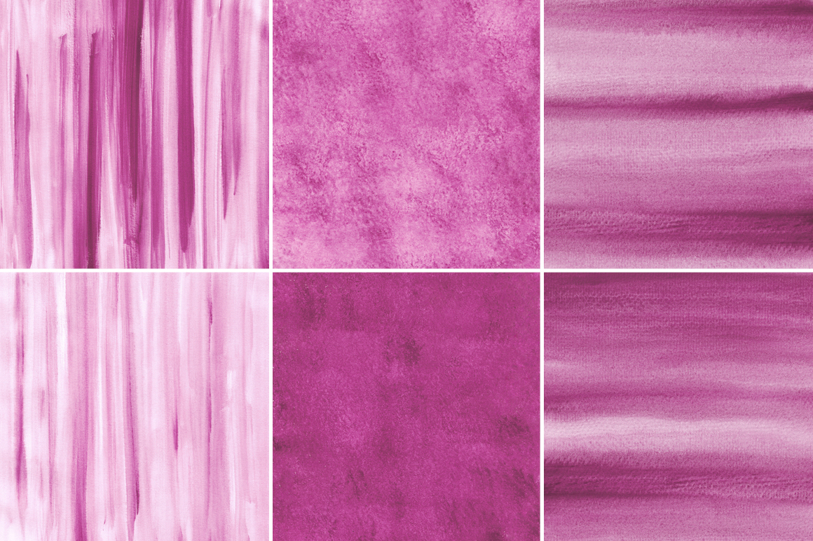 Pink Watercolor Texture Backgrounds example image 4