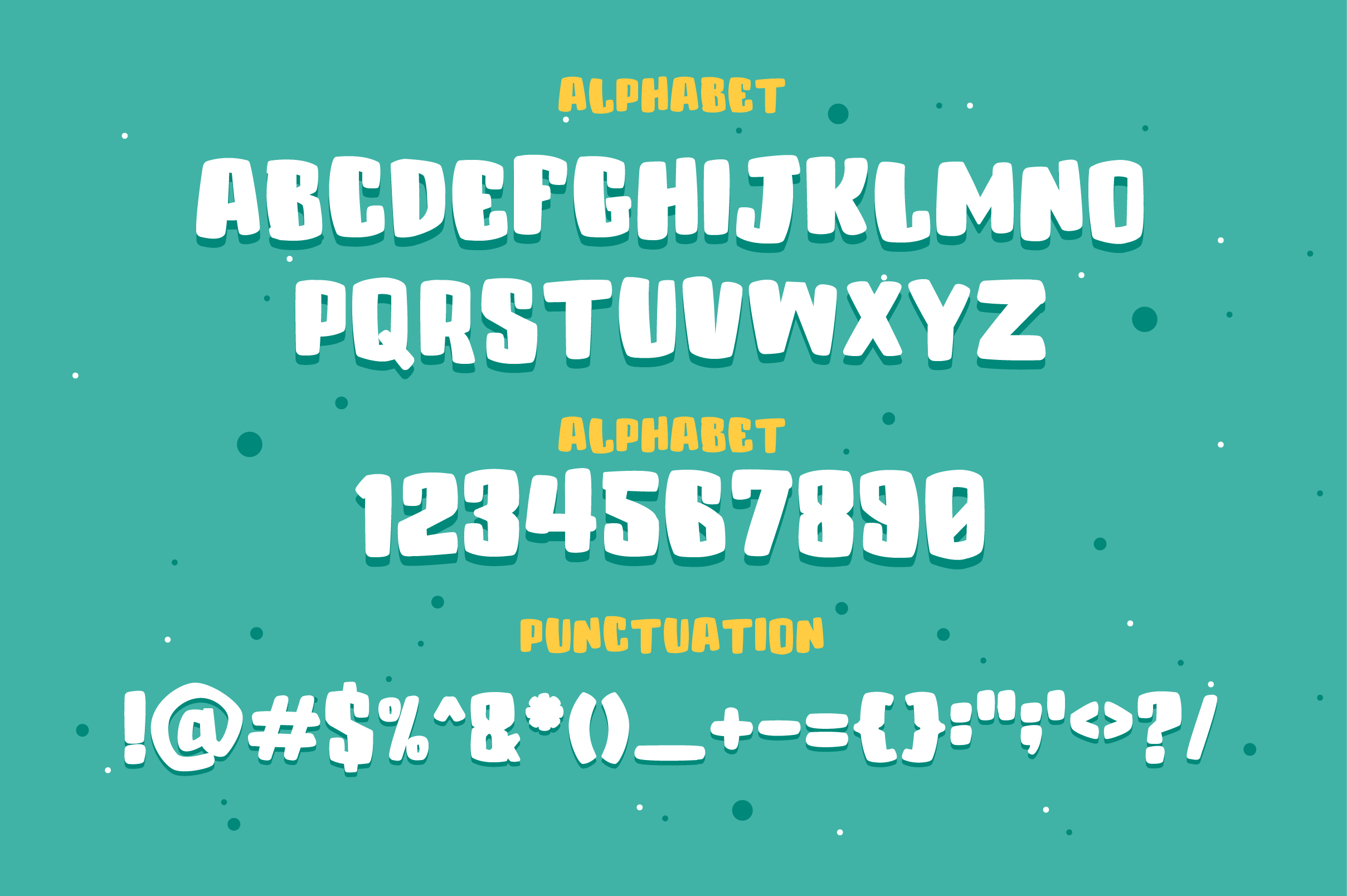 Colenak - Funny Layered Typeface example image 3