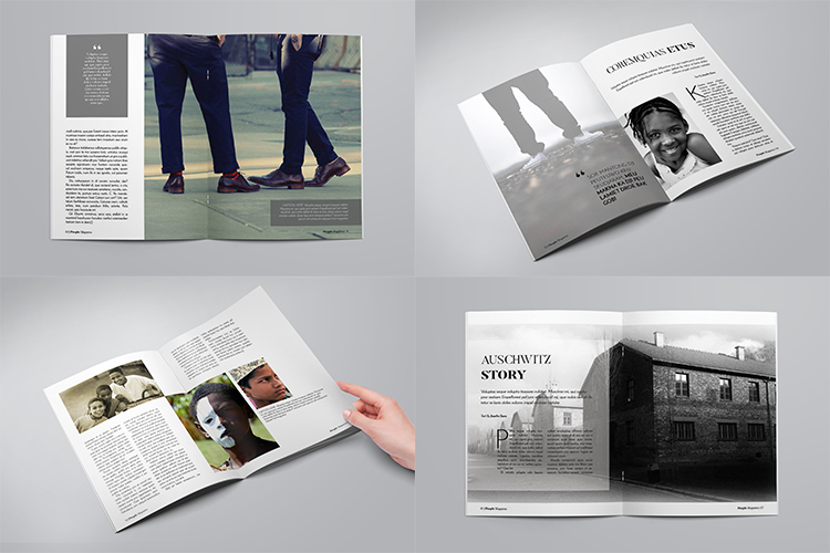 A5 Multipurpose Magazine Template example image 3