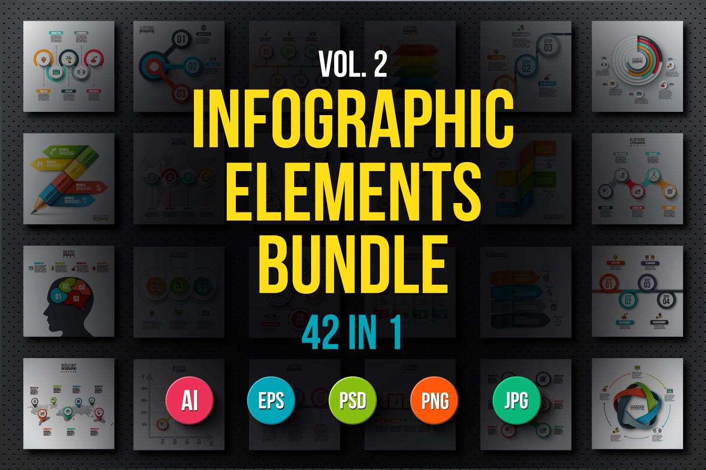 Infographic elements bundle v.02 example image 1