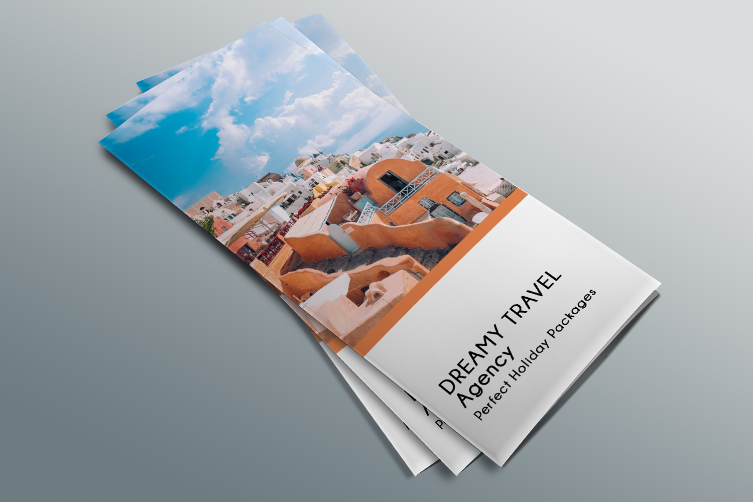 Trifold Travel Agency Brochure Templates A4 example image 3