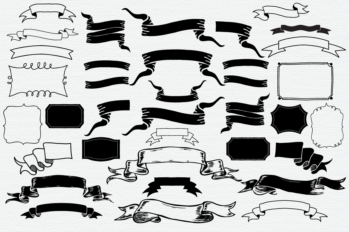 Hand Drawn Vector Elements Pack example image 3