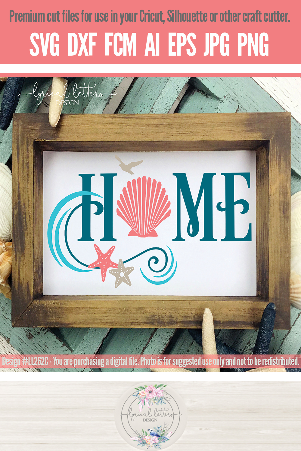 NEW! Home Bundle of 6 SVG Cut Files LL262 example image 11